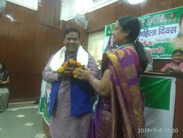 युवा जदयू दिल्ली – जदयू कार्यालय में अंतर्राष्ट्रीय महिला दिवस के अवसर पर कार्यक्रम