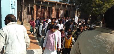 घाटमपुर विधानसभा में राहुल गांधी युवा शक्ति क्रिकेट कप का आयोजन