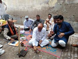 गुज्जैनी वार्ड (कानपुर) के अंतर्गत सड़क निर्माण कार्य का शुभारम्भ