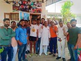 मिशन मोदी अगेन के अंतर्गत सम्मिलित एथलीटों का पश्चिमी विधानसभा में स्वागत अभिनंदन