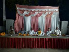 सुभाष युवा मोर्चा - यादवों की महापंचायत में सुभाष वादी पार्टी के अशोक शर्मा भारतीय के पक्ष में मतदान की अपील