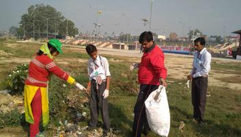 59th River Cleanup under Gomti Gaatha initiative