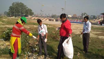 59th River Cleanup under Gomti Gaatha initiative