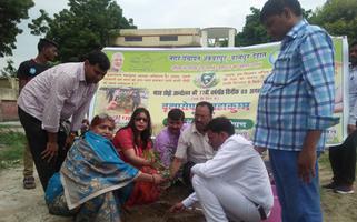 ज्योतिष्ना कटियार – भारत छोड़ो आंदोलन की 77वीं वर्षगांठ के अवसर पर वृक्षारोपण महाकुंभ का आयोजन