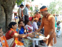 माननीय राजनाथ सिंह जी के जयघोष से गूंजता रहा राजाजीपुरम