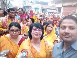 आचार्य शांतुनम जी महाराज के सानिध्य में आरंभ हुयी श्री राम कथा