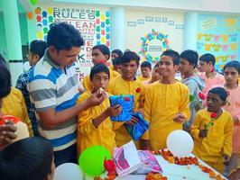 दिव्यांग बच्चों के जन्मदिवस के उपलक्ष्य पर निर्वाण सेवा संस्थान के अंतर्गत आयोजन
