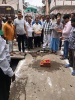 -स्थानीय पार्षद सुधीर कुमार मिश्रा जी ने बाबू कुंज बिहारी वार्ड के अंतर्गत सुजानपुरा की विभिन्न गलिय