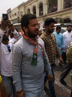 राजनाथ सिंह जी के नामांकन अवसर पर भाजपामय हुआ लखनऊ