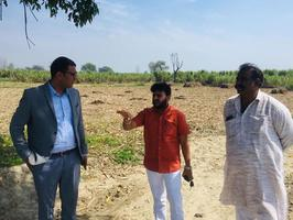 ICICI Foundation team reached village to see the conservation work of Kali River in Antwada