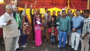युवा जदयू दिल्ली - बुराड़ी के कादीपुर क्षेत्र में हुआ जदयू का जनसंपर्क अभियान