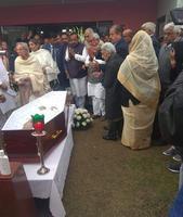 देश के पूर्व जॉर्ज फ़र्नान्डिस के निधन पर प्रार्थना सभा का आयोजन