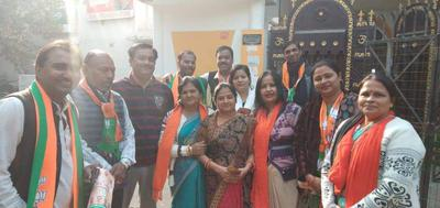 कुंवर ज्योति प्रसाद वार्ड से कमल सन्देश जनसंपर्क पद यात्रा का शुभारंभ
