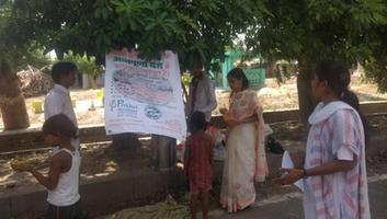Prithvi's 3rd Annapoorna Rasoi for hungry children at Janakipuram
