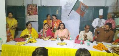 लोकसभा चुनावों के मद्देनजर महिला मोर्चा बैठक का आयोजन