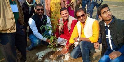 राजाजीपुरम परिक्षेत्र में वृक्षारोपण कार्यक्रम का आयोजन