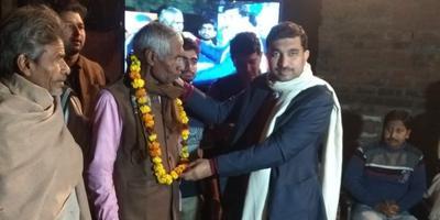 बिठूर विधानसभा के अंतर्गत किसान रात्रि चौपाल का आयोजन