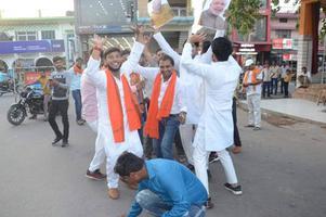 शिवपाल सावरिया – लखनऊ में भारतीय जनता पार्टी की जीत का जश्न