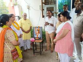 ब्लॉक पार्षद कार्यालय पर दिवगंत सुषमा स्वराज जी को दी गयी भावभीनी श्रृद्धांजलि
