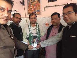 युवा जदयू दिल्ली - लक्ष्मी नगर विधानसभा में कार्यकर्ता समीक्षा बैठक का आयोजन