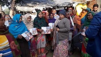 ज्योतिष्ना कटियार - अकबरपुर लोकसभा के विभिन्न वार्डों में जाकर सीएए के लिए जनता को किया जागरूक
