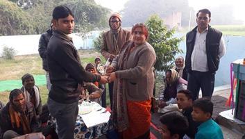 ज्योतिष्ना कटियार - अकबरपुर नगर पंचायत में धूमधाम से मनाया गया नववर्ष
