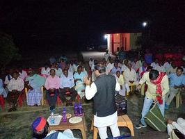 महूवारी ग्राम, मेहनगर विधानसभा में माननीय अखिलेश यादव जी के हेतु विजय अपील