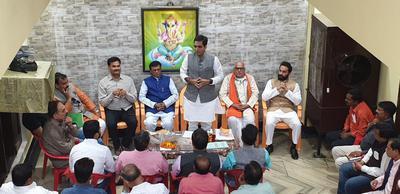 कैन्ट विधान सभा की बैठक में भाजपा महासचिव माननीय पंकज सिंह जी के द्वारा संबोधन