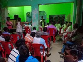 बाराबंकी लोकसभा के अंतर्गत नुक्कड़ सभा को संबोधन