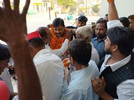 जनपद मैनपुरी में संगठन की समीक्षा