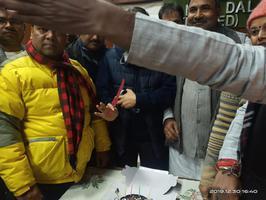 हर्षोल्लास से मनाया गया आरसीपी सिंह का 62वां जन्मदिन