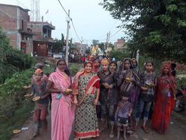 अकबरपुर नगर पंचायत में गणपति विसर्जन कार्यक्रम की धूम