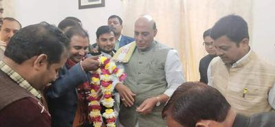 पश्चिमी विधानसभा के अंतर्गत एलीवेटिड ओवर ब्रिज निर्माण के लिए गृहमंत्री राजनाथ सिंह जी को साधुवाद