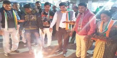तीन राज्यों में कांग्रेस की जीत से कानपुर में जश्न का माहौल