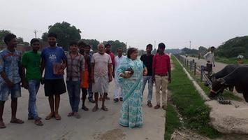 नगर पंचायत अकबरपुर के शिवाजी नगर वार्ड में चलाया गया भाजपा सदस्यता अभियान
