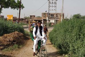 बिल्हौर नगर के अंतर्गत गठबंधन प्रत्याशी डॉ. नीलू सत्यार्थी के लिए मतदान