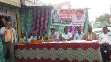 राजीव द्विवेदी - कल्यानपुर विधानसभा के अंतर्गत पनकी गंगागंज वार्ड में नुक्कड़ सभा का आयोजन