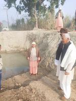 नंगली तीर्थ हरिद्वार से काली उद्गम स्थल देखने आये महामंडलेश्वर स्वामी श्री शिव प्रेमानंद जी महाराज