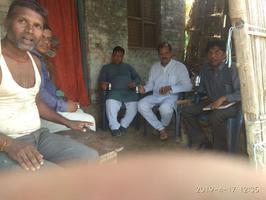 झंझारपुर लोकसभा क्षेत्र के अंतर्गत विभिन्न ग्रामों में एनडीए प्रत्याशी हेतु डोर टू डोर कैम्पेन