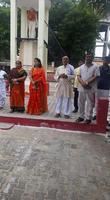 नगर पंचायत कार्यालय अकबरपुर के अंतर्गत वीरों के सम्मान में किया गया ध्वजारोहण