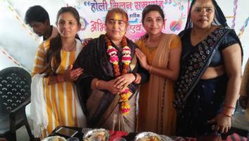 ज्योतिष्ना कटियार - अकबरपुर नगर पंचायत के कांशीराम नगर में हुआ होली मिलन समारोह का भव्य आयोजन