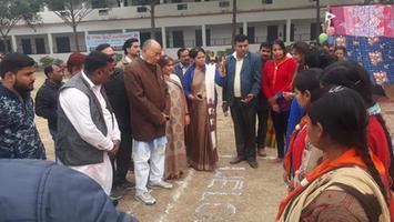 ज्योतिष्ना कटियार - सरला द्विवेदी महाविद्यालय में भारत स्काउट एंड गाइड प्रशिक्षण शिविर समापन समारोह का आयोजन