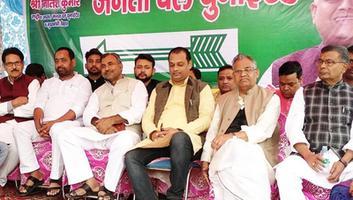 युवा जदयू दिल्ली – बुराड़ी में आयोजित पार्टी कार्यक्रम में दिल्ली सरकार की असफल नीतियों पर हुयी चर्चा