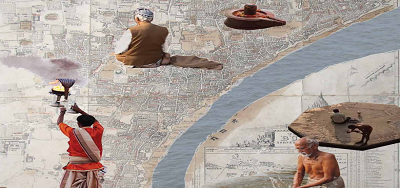 Ganga nadi - Ghats of Varanasi on the Ganga in India : The cultural landscape reclaimed