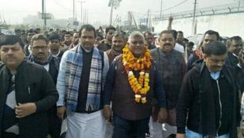 अमल कुमार - दिल्ली बुरारी विधानसभा से जदयू प्रत्याशी श्री शैलेन्द्र कुमार की नामांकन प्रक्रिया में जदयू नेताओं ने की शिरकत