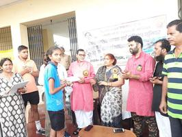 पंडित दीन दयाल उपाध्याय जयंती - नगर पंचायत अकबरपुर में बच्चों को खेलों के प्रति किया गया प्रोत्साहित