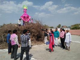 ज्योतिष्ना कटियार – नगर पंचायत अकबरपुर के अंतर्गत होलिका दहन के अवसर पर मनोहर झांकी का आयोजन