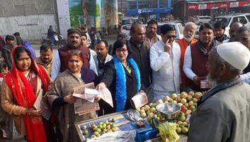 ज्योतिष्ना कटियार - एनआरसी और सीएए को लेकर नगर पंचायत अकबरपुर में चलाया गया जागरूकता अभियान