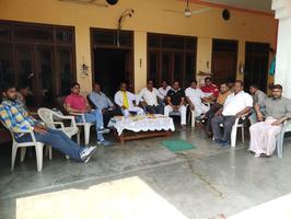 सुभाष युवा मोर्चा - अशोक शर्मा भारतीय को मुरादनगर और देहात में व्यापक जन समर्थन