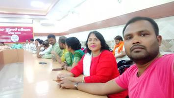 लखनऊ में भाजपा प्रदेश कार्यालय बैठक में की शिरकत